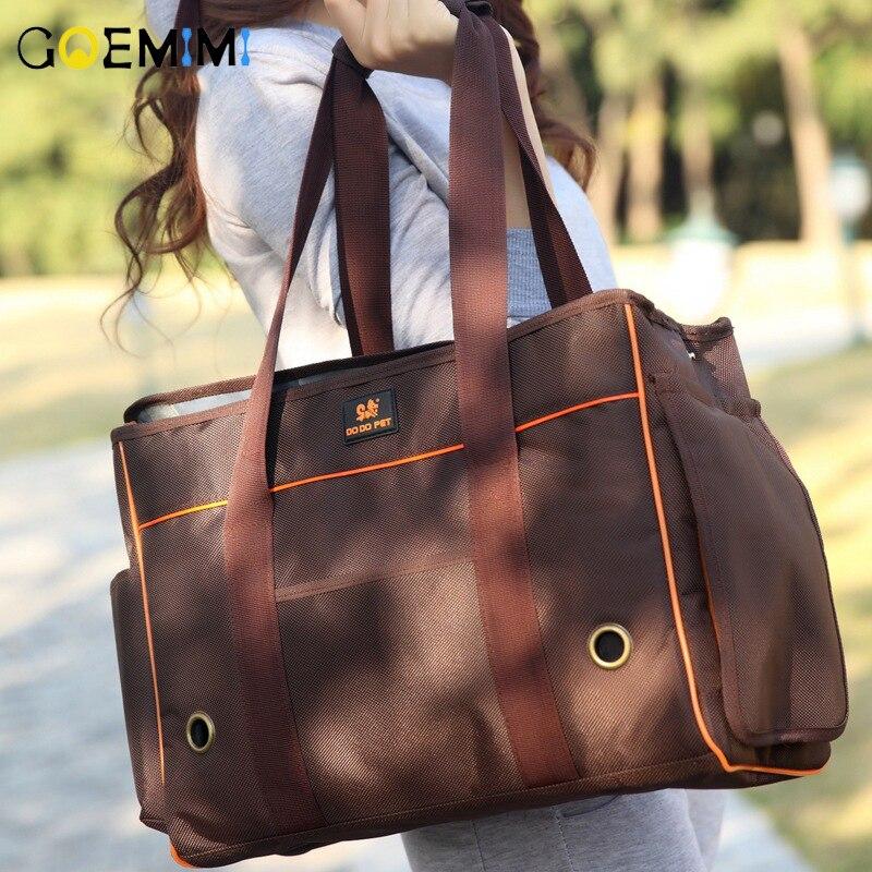 New Arrival Cat Outdoor Shoulder Bag Breathable Folding Portable Pet Dog Carrier Top Quality Cat Travel Sling Bag