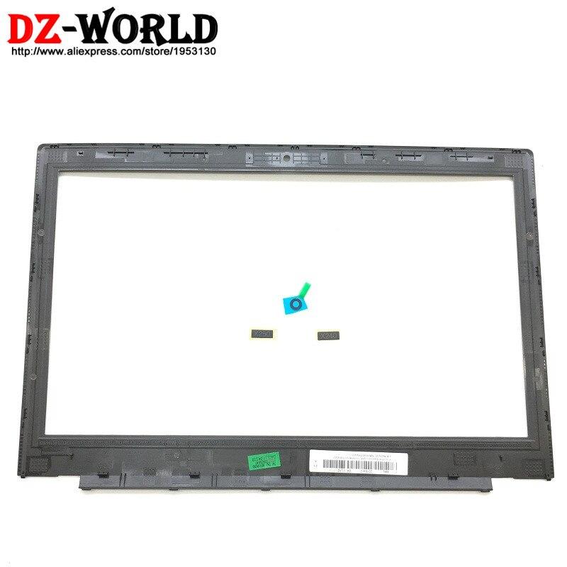 Orig-شاشة كمبيوتر محمول جديدة ، غطاء أمامي LCD ، B Bezel ، لـ ThinkPad X240 X250 ، مع مؤشر النموذج ، لوحة الكاميرا ، 04X5360