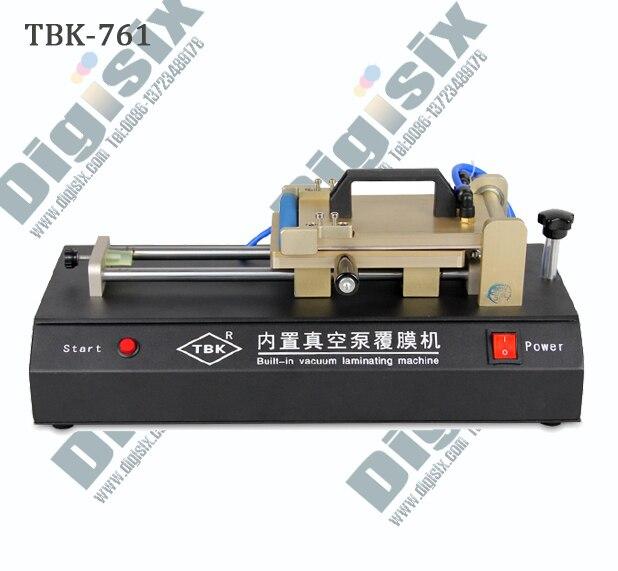 عالية الجودة TBK-761 المدمج في غطاء المكنسة الكهربائية آلة الترقق لصفح فيلم الاستقطاب OCA تغليف