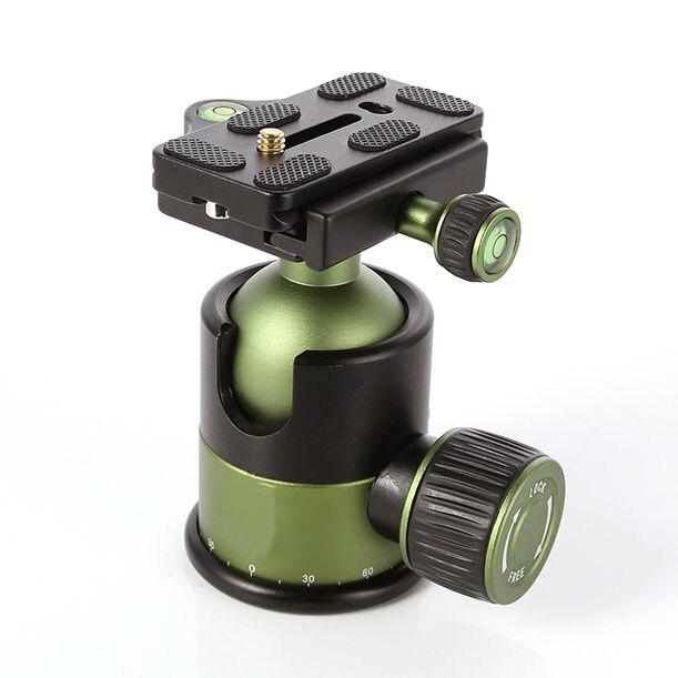 "Professional 20KG Metal Heavy Duty Camera Tripod Ball Head w/ QR Quick Release Plate 1/4""Screw SYS-90"