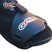GXT-chaussures de course en plastique   Chaussures de moto liées aux dossiers, ensembles de protection et de protection pour engins de moto