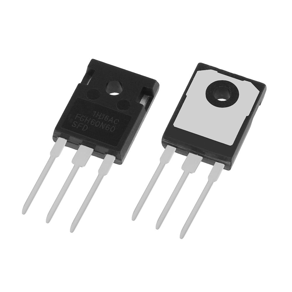 50 قطعة/المجموعة جديد FGH60N60 60N60 IGBT 600 فولت 120A 378 واط TO-247 الترانزستور IGBT أفضل جودة