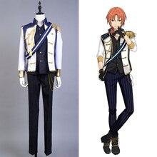 Ensemble étoiles idole unité chevaliers Leo Tsukinaga Costume Cosplay Ensemble complet