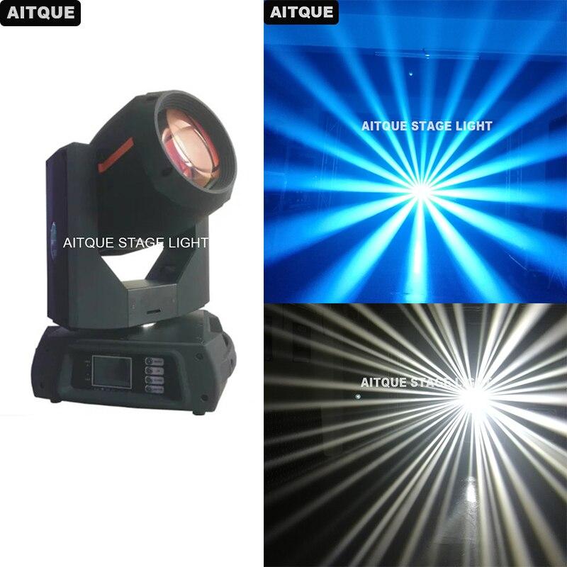 8 unids/lote DJ Color cambiable 350 w haz 17R cabeza móvil escenario 350 Luz de haz de luz móvil