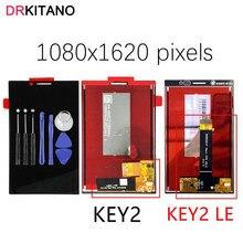 Oryginalny wyświetlacz LCD dla BlackBerry Key2 ekran dotykowy Digitizer dla BlackBerry Key2 LE klucz LCD 2 ekran KeyTwo części zamienne