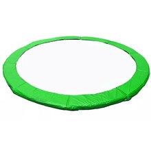 Reemplazo de trampolín de Color verde, almohadilla de seguridad (cubierta de resorte impermeable de PVC) para trampolín de 6/8/10/12/13/14/15/16 pies