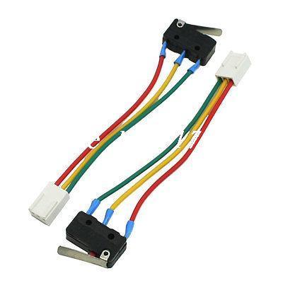 2 piezas de calentador de agua de Gas 3 Pin conector hembra palanca con bisagra Micro interruptor 5A 250VAC