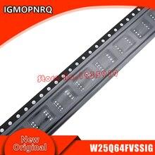 10 pièces W25Q64FVSSIG W25Q64FVSIG 25Q64FVSIG 25Q64 SOP puce dordinateur portable nouveau original