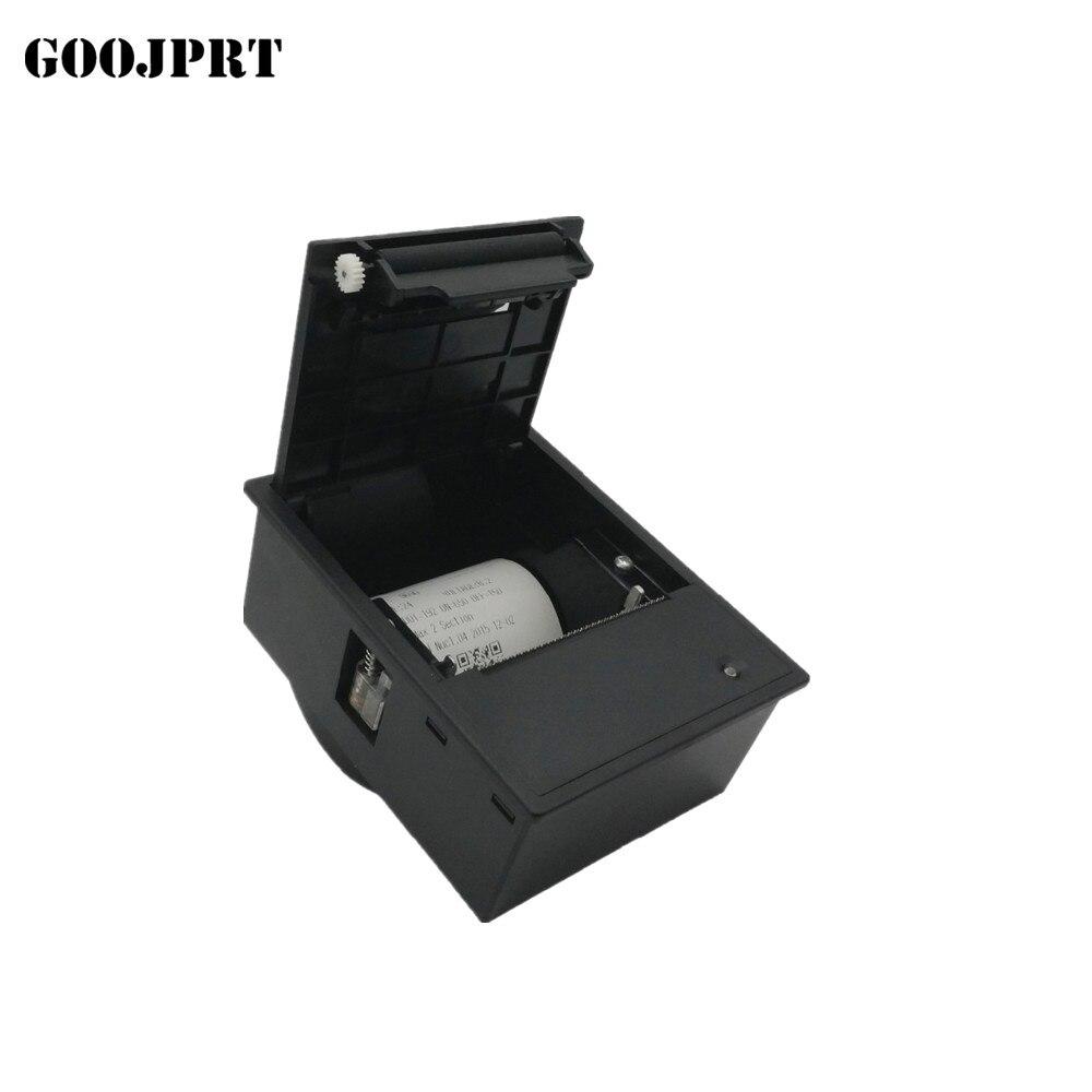 2 zoll embedded thermische label drucker USB oder RS232 auto menschlichen maßstab druck maschine Optional unterstützung Steuerung Lock öffnung abdeckung