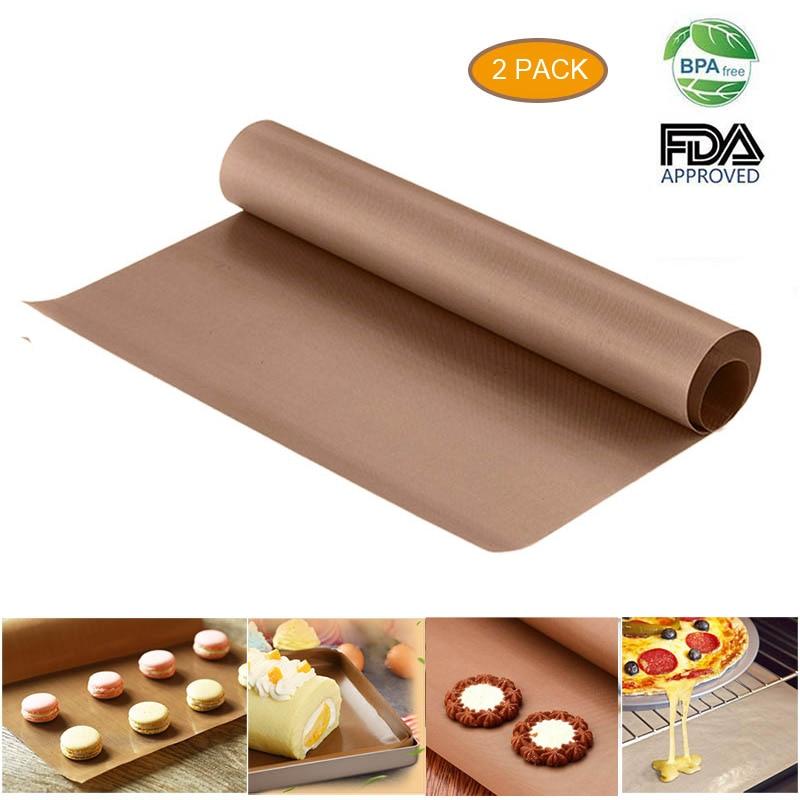 60x40cm Reusable Big Baking Mat High Temperature Resistant Sheet Pastry Baking BBQ Non-stick Cake Mat Oven Tools Pastry Tools