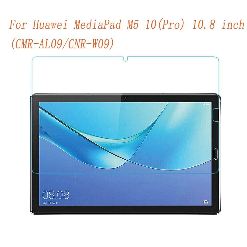 Vidrio templado para Huawei Mediapad M5 10 Pro M6 10,8, Protector de pantalla 9H, película protectora transparente para tableta M5 Pro, cristal de 10,8 pulgadas