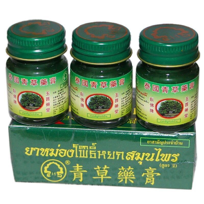 3 uds 15g bálsamo para masajes Tigre crema refrescarse gripe fría dolor de cabeza mareo verano Mosquito thai bálsamo de hierbas