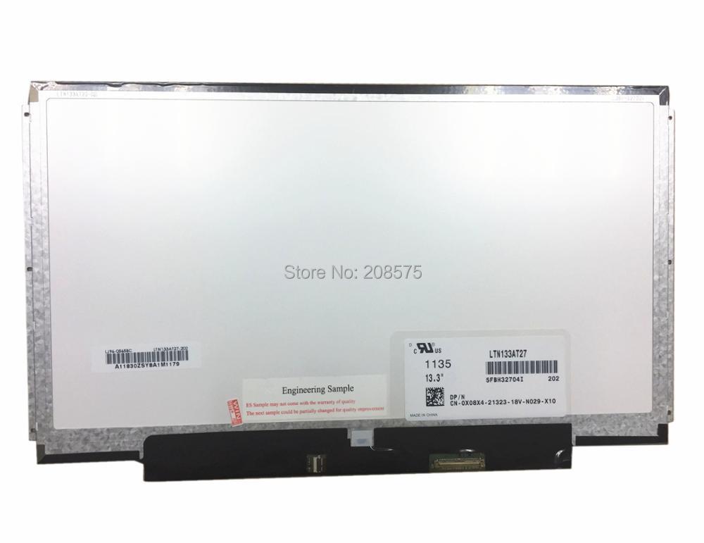 Frete Grátis! LTN133AT27 B133XW01 V.0 CLAA133WA01A B133XW03 B133XW01 V.1 LP133WH2-TLM4 Laptop Tela LED 1366*768 40 pinos