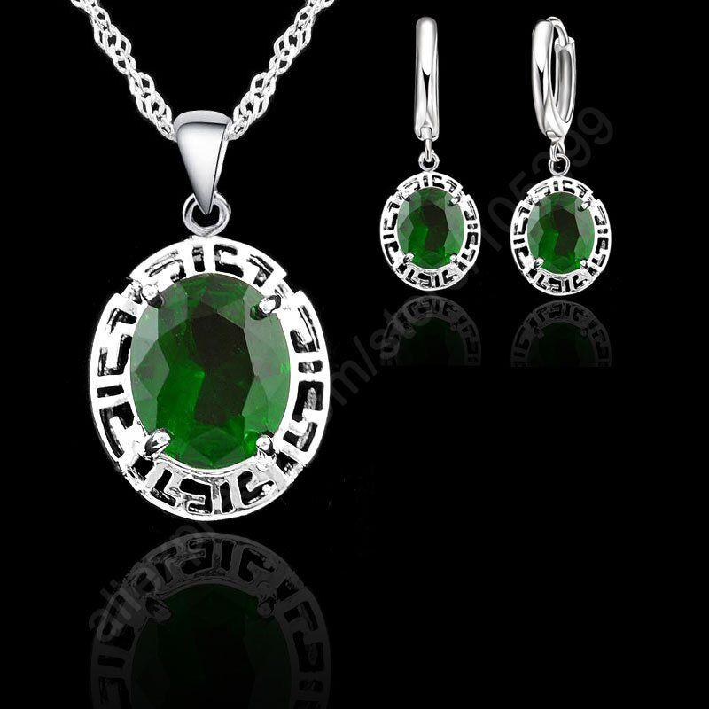 Новые-Ювелирные-наборы-из-стерлингового-серебра-925-пробы-круглые-модные-свадебные-украшения-серьги-ожерелье-романтический-подарок-для-в