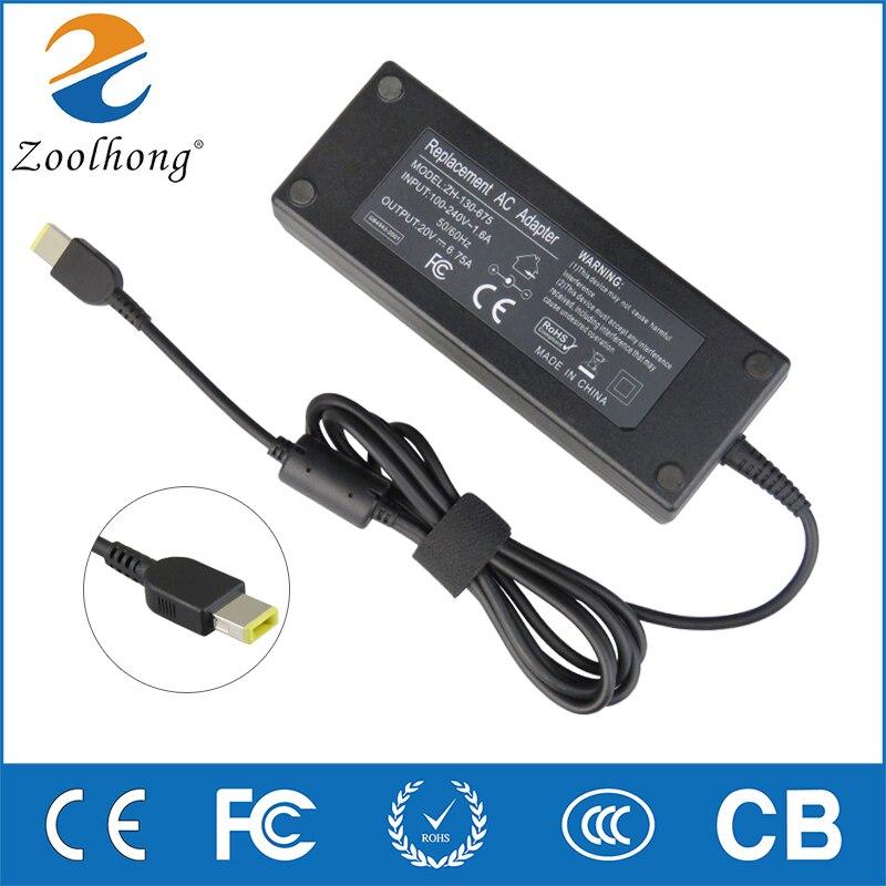 135W 20V 6.75A מחשב נייד AC מתאם מטען עבור Lenovo IdeaPad Y50 ADL135NDC3A 36200605 45N0361 45N0501 Y50-70-40 t540p