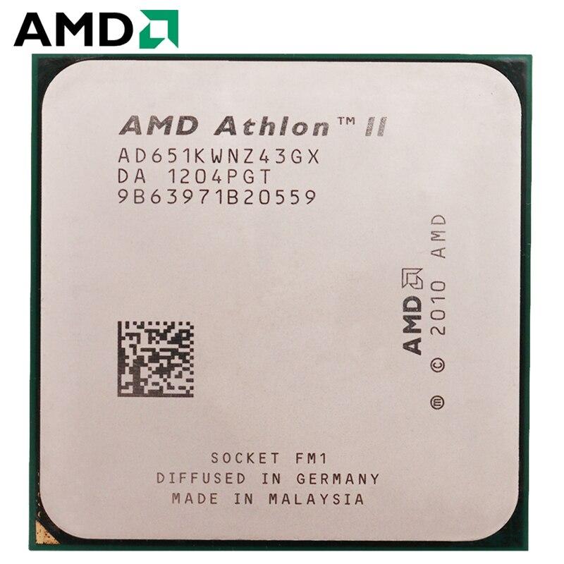 AMD Athlon II X4 651 hembra FM1 100W 3,0 GHz 905-pin CPU...
