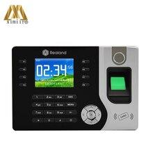 Hot Fingerprint Time Attendance Support P2P Cloud Service Realand A-C071 TCP/IP Communication Fingerprint Clock With 125KHZ RFID