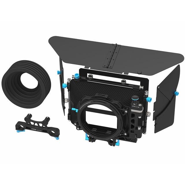 FOTGA DP500III PRO DSLR Swing-away 90 Dfegree para Cambio rápido de lente mate caja para 15mm/19mm Rod Cámara Rig