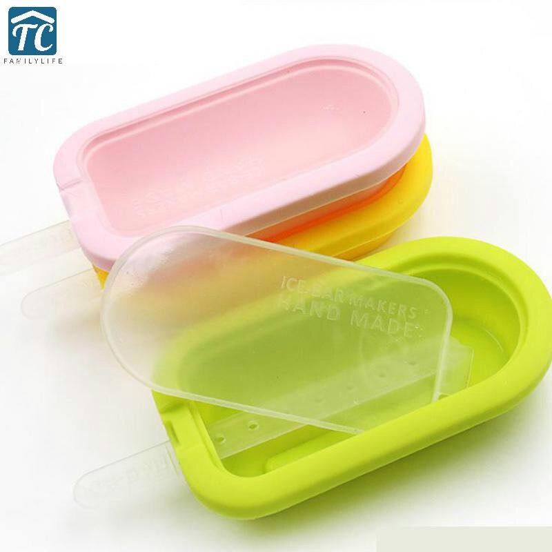 Силиконовые формы для мороженого высокое качество эскимо формы силикагель мембрана сэндвич Производители Кухонные принадлежности, фрукты...