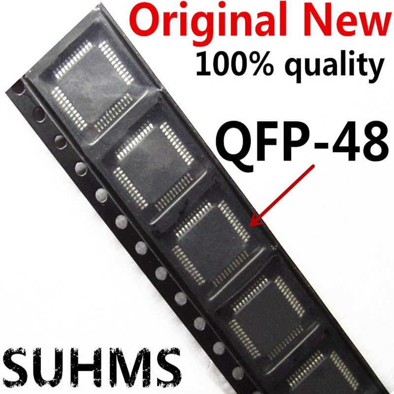 (5 шт.) 100% новый STM32F103CBT6 STM32F103CB 32F103CBT6 128KB QFP-48 чипсет