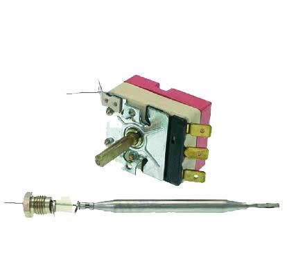 EGO 55.13032.140 Universal Freidora Temperatura de Control de termostato 1ph 180