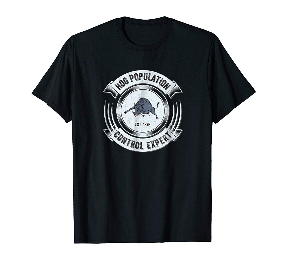 Divertido Hog caza Hunter camiseta-sarcástico jabalí regalo hombres camiseta 2019 moda estampado manga corta Camiseta ropa personalizada T camisa