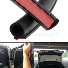 Уплотнительная лента для автомобильных дверей, 8 метров, большая d образная уплотнительная лента для окон EPDM, каучуковая шумоизоляционная Пыленепроницаемая уплотнительная лента для багажника двигателя