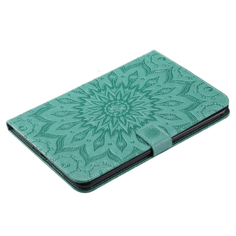 """Купить с кэшбэком Wekays For Galaxy Tab A 8.0"""" T350 Sun Flower Leather Fundas Case For Samsung Galaxy Tab A 8.0 T355 T350 T351 Tablet Cover Cases"""