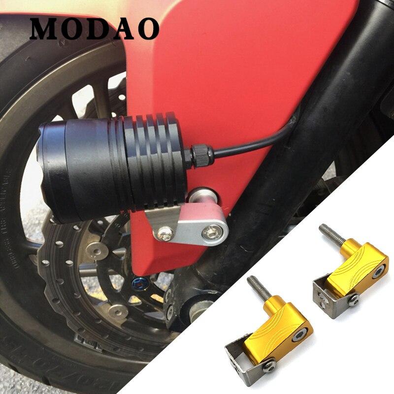 Для HONDA INTEGRA NC700D NC750D XADV CNC алюминиевый Монтажный кронштейн для нижней лампы мотоцикла модифицированный кронштейн для прожектора