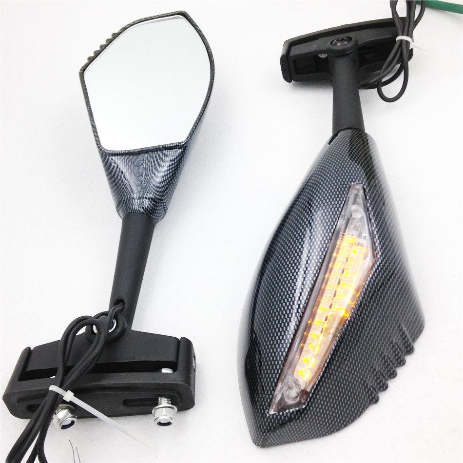 LED de la motocicleta de la señal espejos retrovisores laterales para Honda CBR/900/929/954/1000 CBR600RR 900RR 1000RR CBR600 F1/F2/F3/F4/F4i