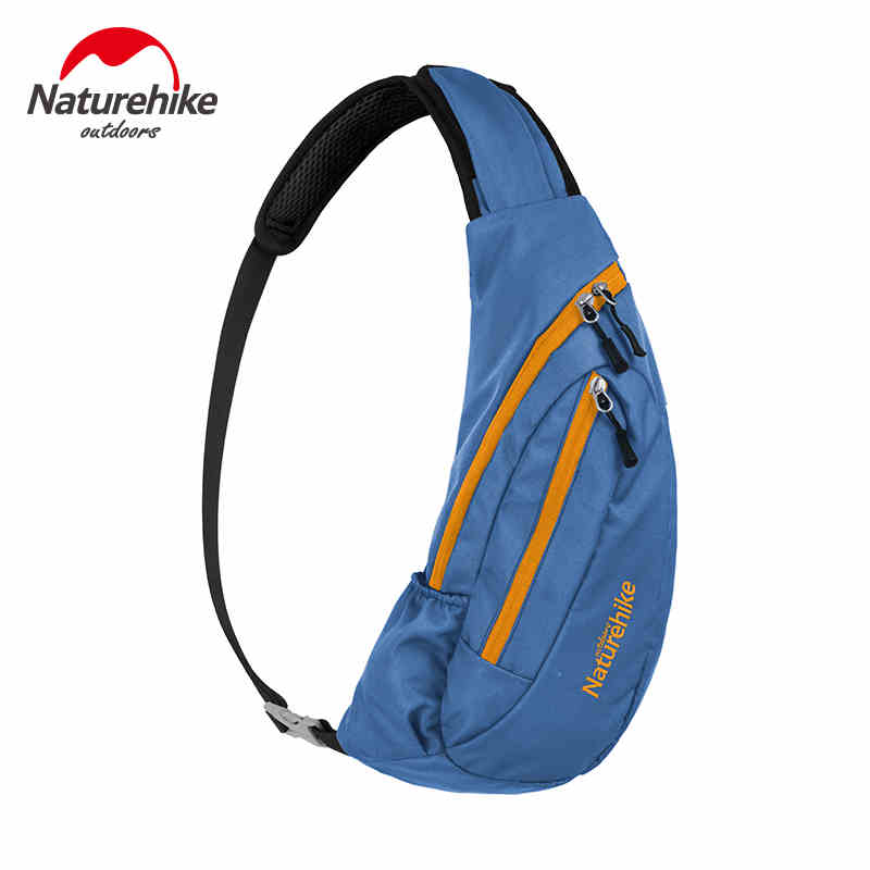 Mochila NatureHike impermeable de nailon, bolso de hombro, bolsa de mensajero para correr, bolsa de pecho, Mochila deportiva para escalada al aire libre