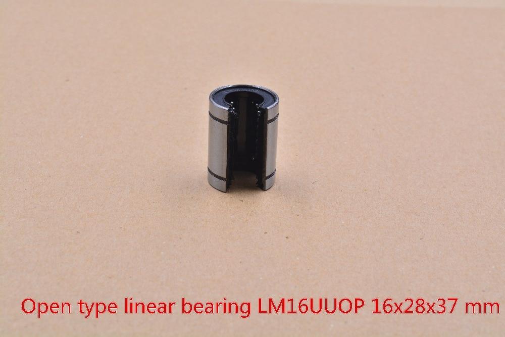 LM16UUOP 16mmx28mmx37mm  linear ball bearing bush bushing for  shaft cnc 1pcs