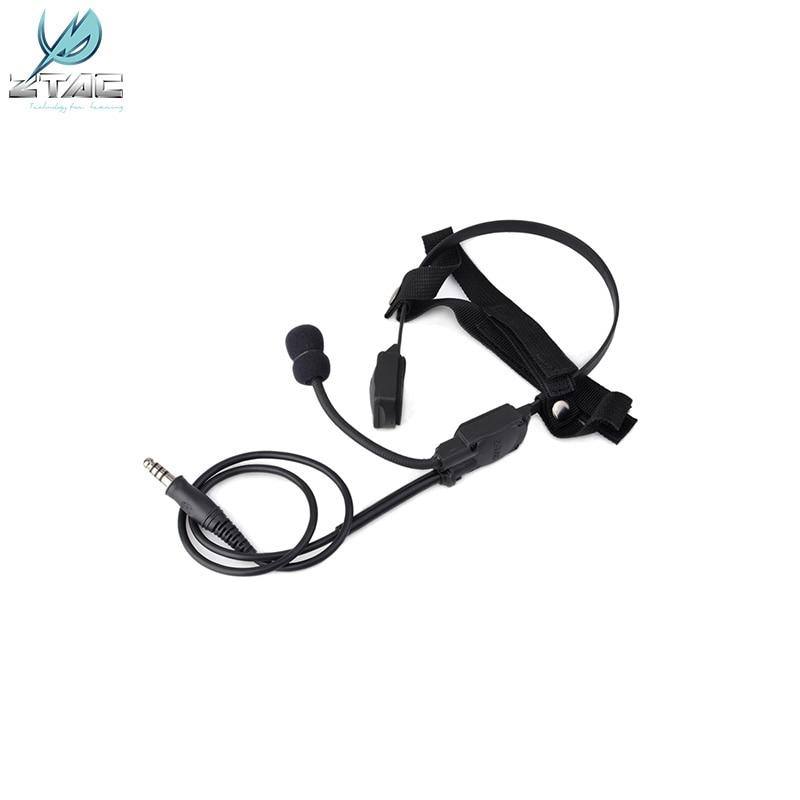 Z136 Z-TAC airsoft bone-speaker MH180-V Atlantic Signal Headset Bone Conduction Signal Headphones недорого