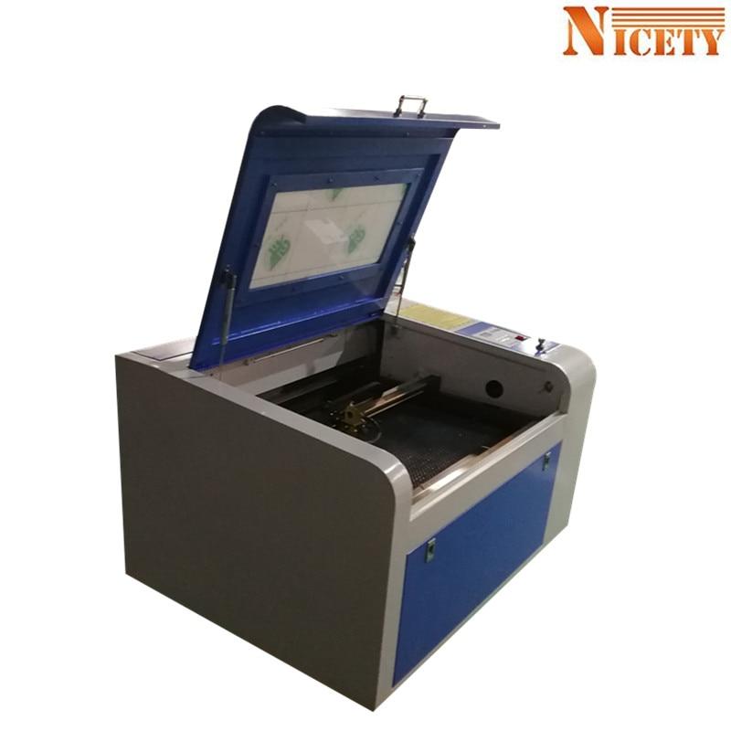 80W Laser engraver cutter machine CO2 CNC Laser Engraving Cutting Machine 4060/6040 with M2 corellaser laser Wood Arcylic