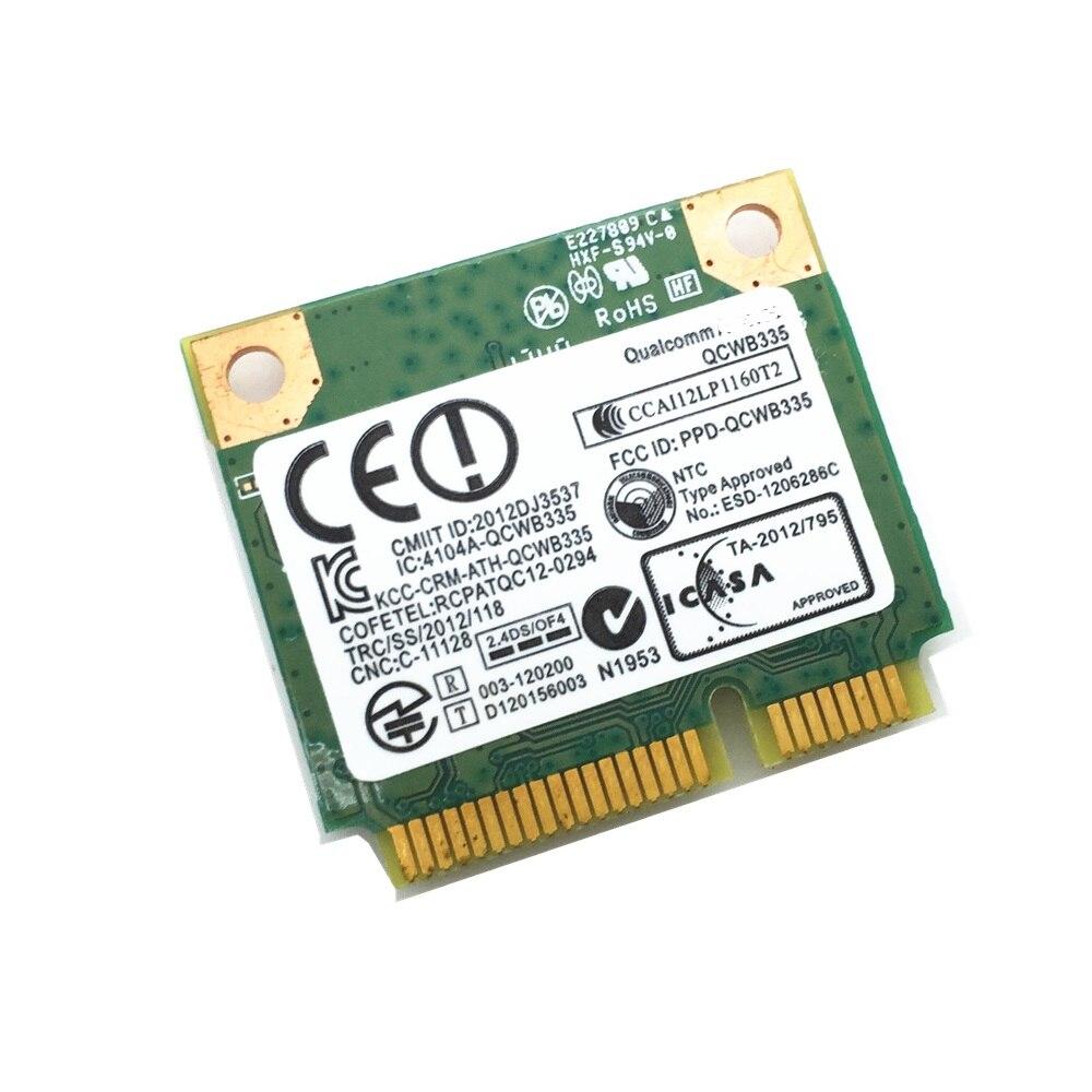 SSEA venta al por mayor nuevo WiFi BT Bluetooth 3,0 QCWB335 802.11n 05GC50 inalámbrico WiFi tarjeta para Dell Inspiron 15-3542, 150Mbps