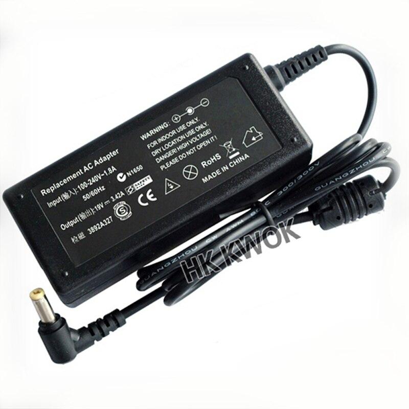 19V 3.42A cargador de adaptador para ordenador portátil AC para Acer Aspire...