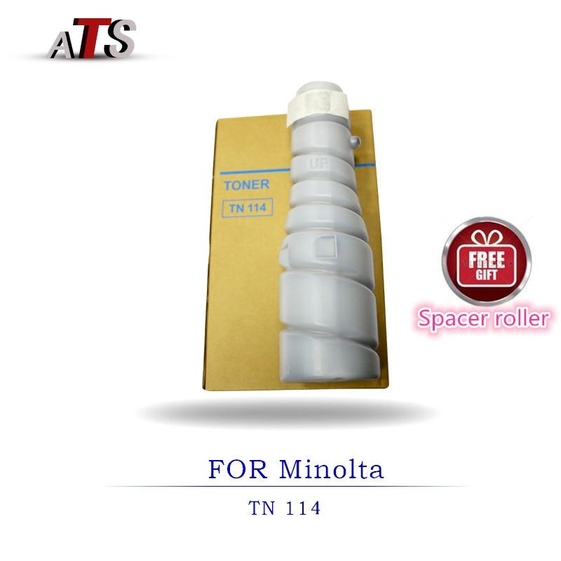 2 قطعة خرطوشة حبر ناسخة TN114 ل Minolta DI 152 183 162 210 211 7521 220 1611 جودة عالية مسحوق تلوين البشرة ناسخة أجزاء