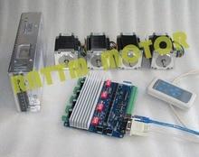 Kit de commande moteur stepper 270 oz-in/3.0A   4 aixs USB NEMA23 oz