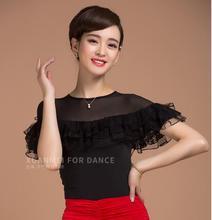 Latin dance blouse new performance dance costume practice top blouse  YB0511