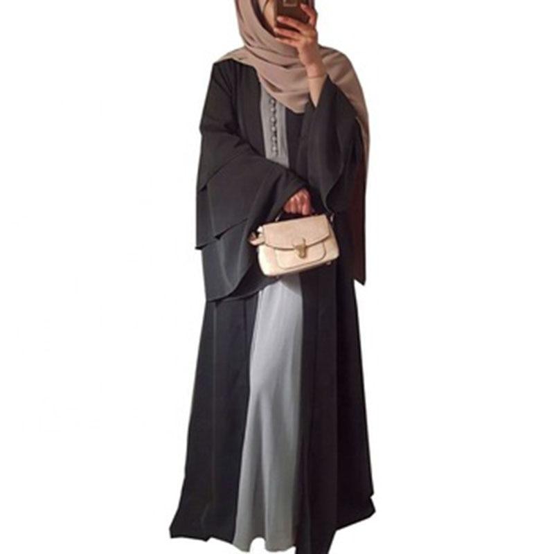 Женское платье с длинным рукавом в Дубае красное рукавами