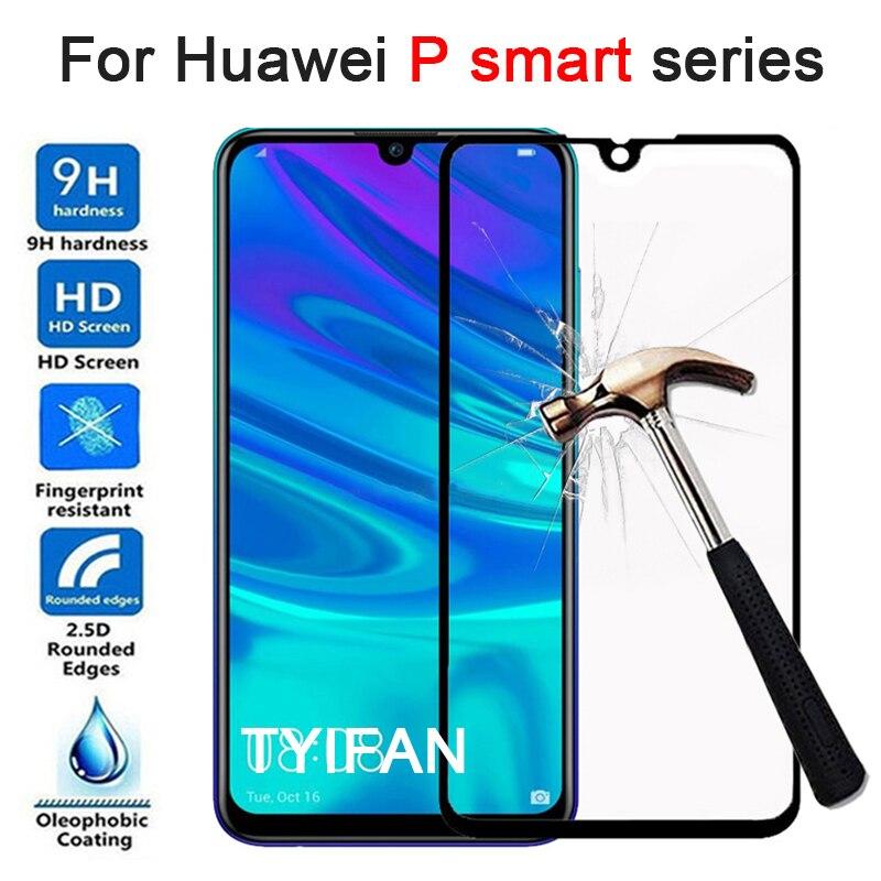 Vidrio templado para Huawei P Smart Fig-lx1 Plus 2019 protector de pantalla de cristal en Huawey Psmart Smartplus Smart2019 película de seguridad