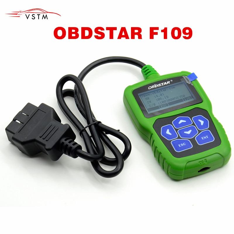 OBDSTAR F109 para Calculadora de código pin SUZUKI con función de odómetro inmóvil F109 para calcular el código pin de 20-4 dígitos clave automática