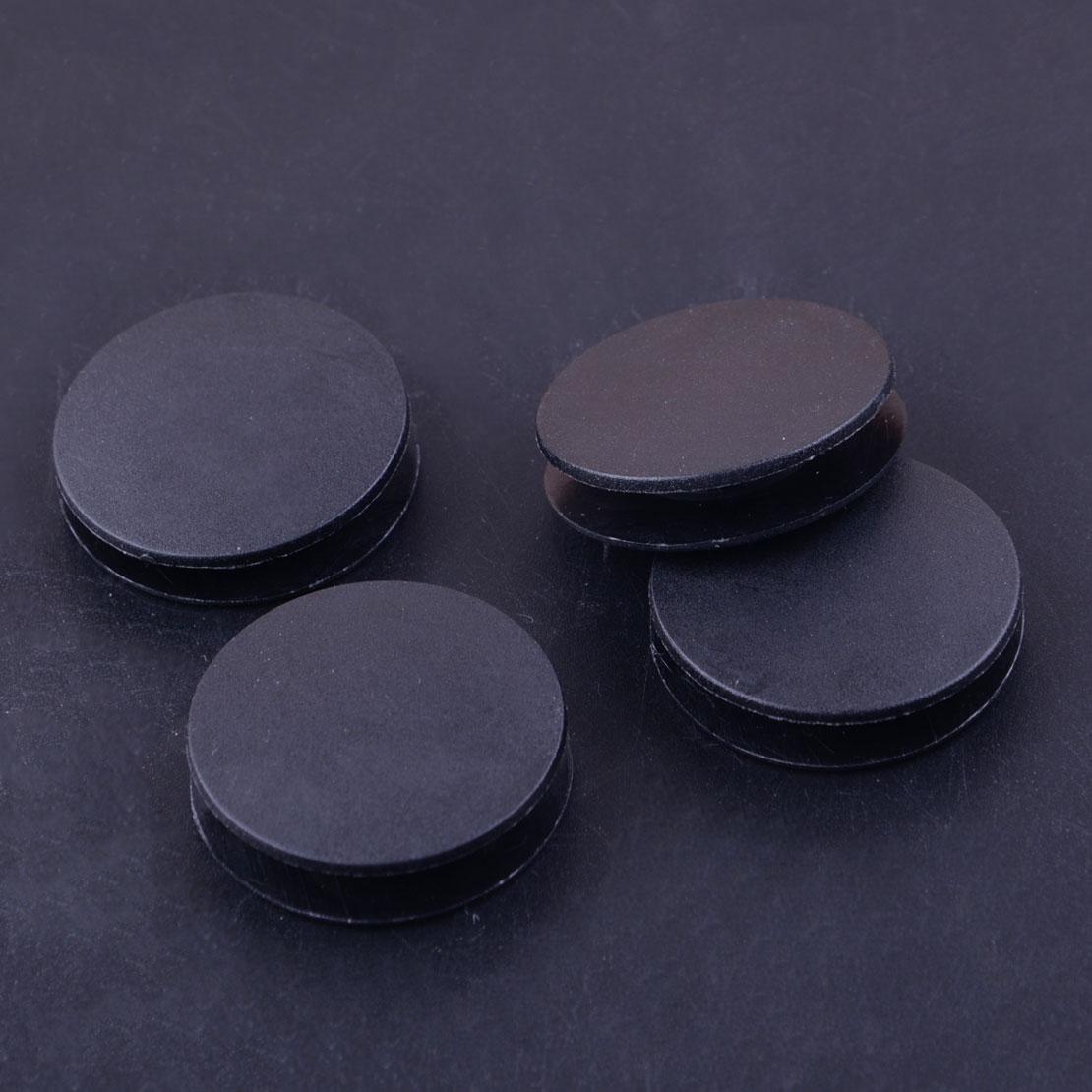 CITALL 4Pcs Black Plastic Car Mat Grips Carpet Floor Fixing Clips Clamps BQ6680520 Fit for MERCEDES-BENZ