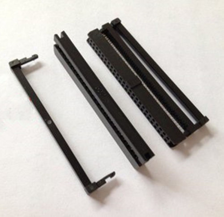 10PCS FC-50P 2x25Pin Dual Reihe Pitch 2,54mm IDC Buchse Stecker Weiblich Header 50-pin kabel buchse