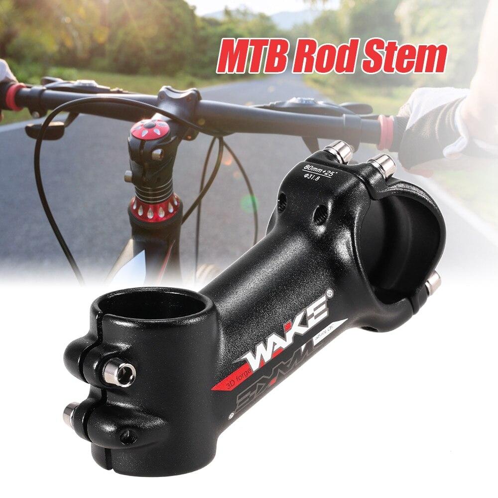 31,8mm aleación de aluminio MTB Stem ajustable extensión bicicleta manillar frontal Rod Stem bicicleta Partes 60mm 70mm 80mm 90mm 100mm