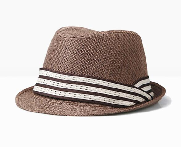 Gorra de Sol de algodón de Panamá para exteriores unisex de verano sombrero de playa de cinta sólido