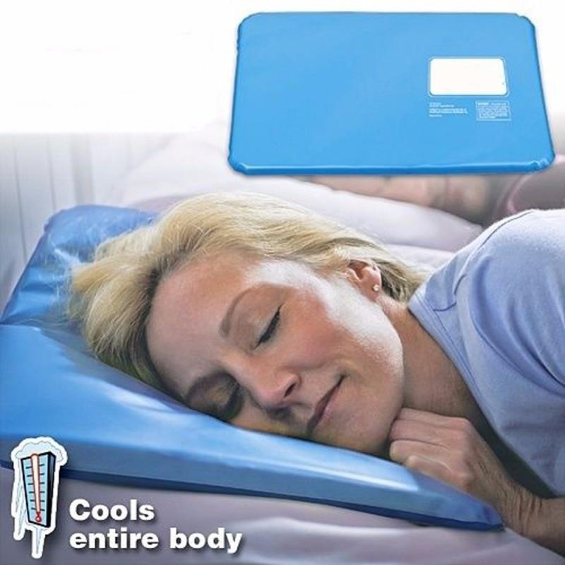 Горячая Летняя терапия вставка коврик для помощи для сна коврик для облегчения мышц охлаждающая гелевая Подушка для льда массажер водяные подушки
