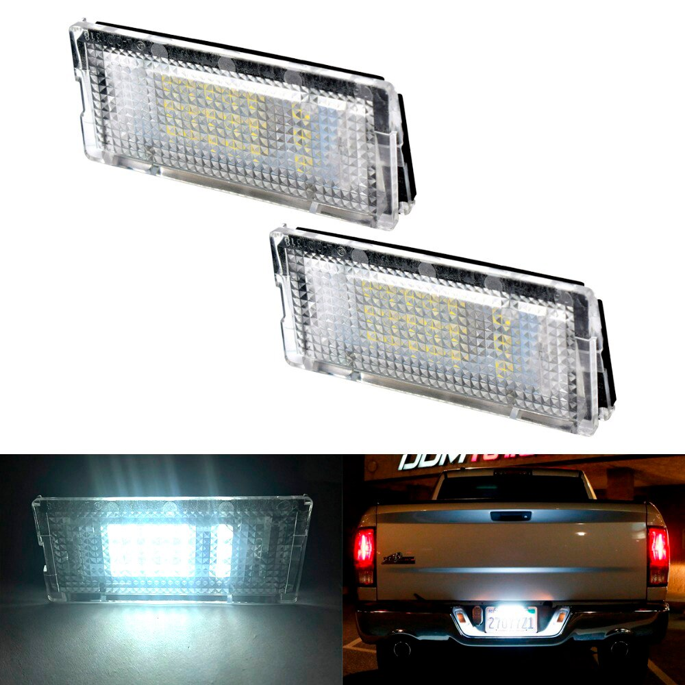 2pcs Car LED Number License Plate Light 12V For BMW E46 323i 325i 325xi 328i 330i 330xi Trunk Light Car Tuning Auto Accessories