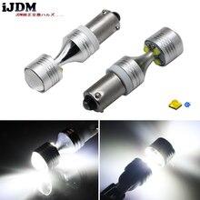 IJDM-Auto H21W BAY9s   120 degrés, 6x5W, haute puissance, ampoules à objectif pour sauvegarde ou feux de stationnement, Base: h21w, bay9s, 12v