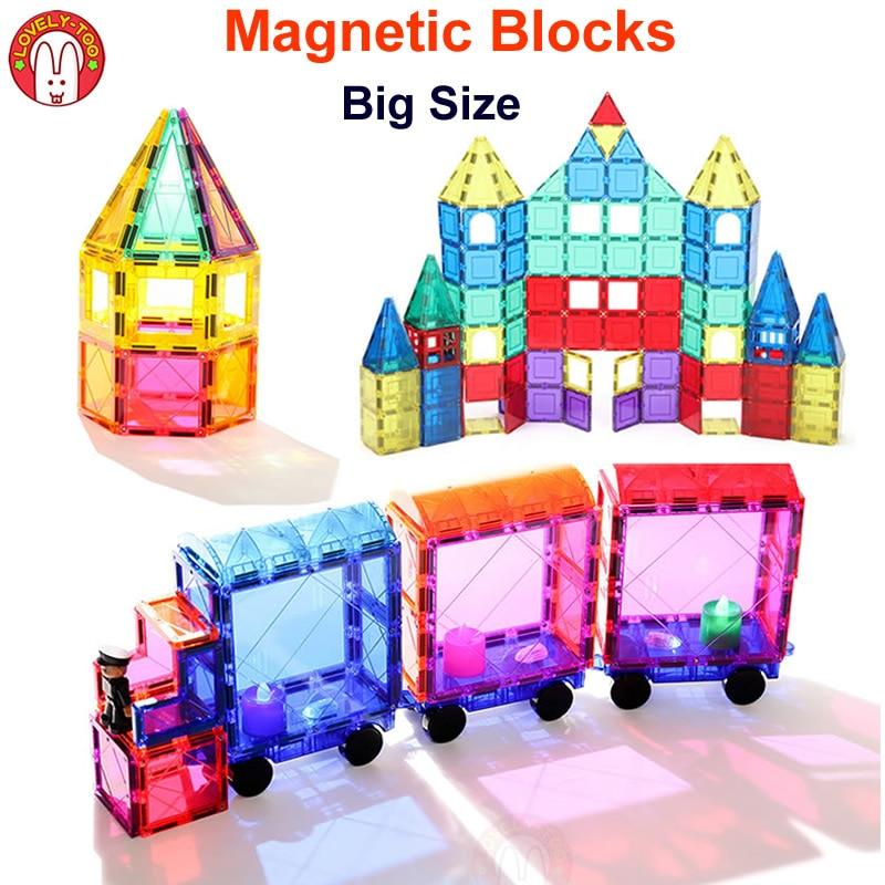Magnetic Blocks Building Bricks Magnetic Tiles Games Designer Construction Set Magnet Toy  Model Educational Toys For Children magnetic blocks constructor toys for kids mini building magnet games children s designer educational toy for boys girls gift